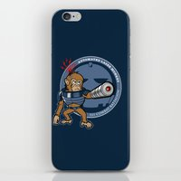 Automated Laser Monkey iPhone & iPod Skin