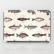 iPad Case featuring Fishes In Geometrics (Re… by Speakerine / Florent…