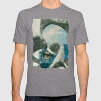 Sea Spray Mens Fitted Tee Tri-Grey SMALL