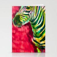 Mr. Zebra Stationery Cards