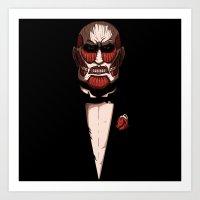 Colossal godfather Art Print