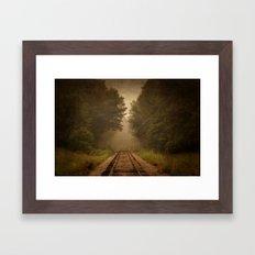 Rural Line Framed Art Print