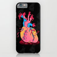 iPhone & iPod Case featuring heartburst by Amanda Jonson