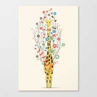 Canvas Print featuring I Brought You These Flow… by Jay Fleck