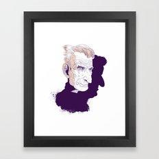 Sam Beckett Framed Art Print