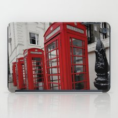 Phone Booths of London iPad Case