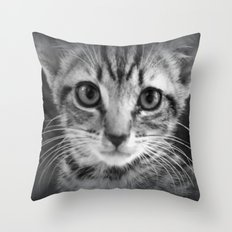 too much cuteness Throw Pillow
