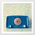 Mint Dials Art Print