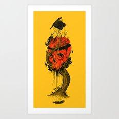 Nameless Hero Art Print