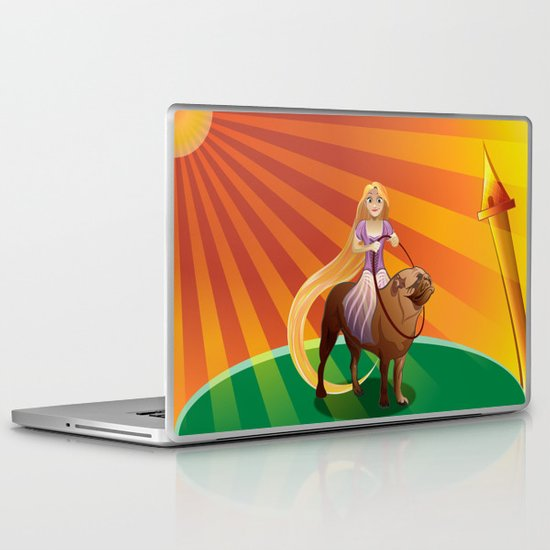 Disney princess Laptop & iPad Skin