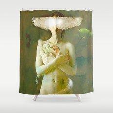 Eve's temptation Shower Curtain