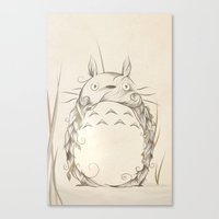 Poetic Creature Canvas Print