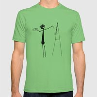 Painter Mens Fitted Tee Grass SMALL