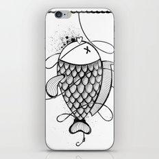 Black Corocoro iPhone & iPod Skin