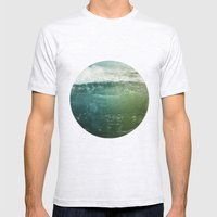Vagues Jumelles Mens Fitted Tee Ash Grey SMALL