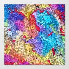 Reef #2 Canvas Print