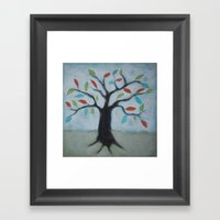 Color My World Framed Art Print