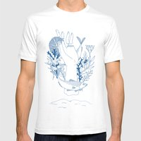 Vanitas I Mens Fitted Tee White SMALL
