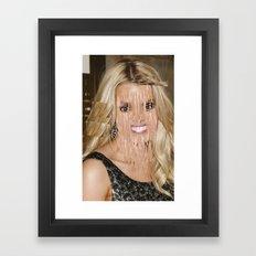 jessi xo Framed Art Print