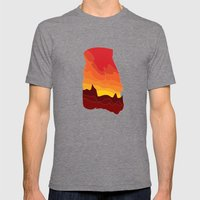 Arid Mens Fitted Tee Tri-Grey SMALL