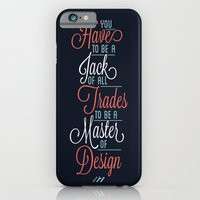 JACK OF ALL TRADES iPhone 6 Slim Case