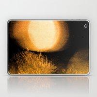 Dark Night Amber Laptop & iPad Skin