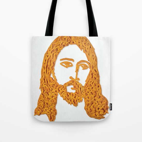 Cheesus Tote Bag