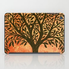 Tree Of Life Warm Tones iPad Case
