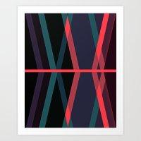 Deviations Art Print
