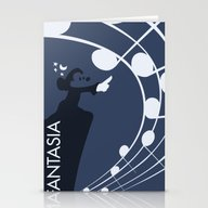 Fantasia Stationery Cards
