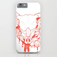 Flower Power Skull iPhone 6 Slim Case