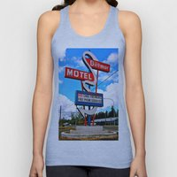 Classic Motel Sign Unisex Tank Top