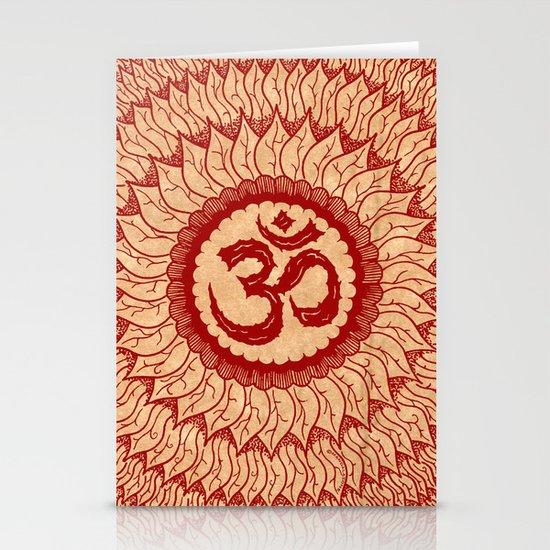 lialiom mandala Stationery Card