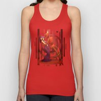 The Devil's Hands are Idle Playthings Unisex Tank Top