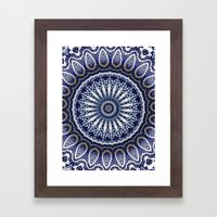 China Blue Framed Art Print