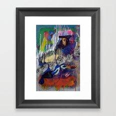 S H A M A N Framed Art Print