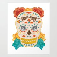 Mexican Day Of The Dead … Art Print
