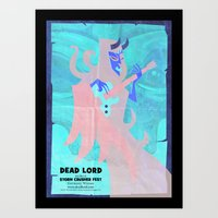 Dead Lord Gig Poster Art Print