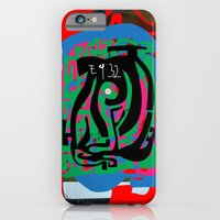 iPhone & iPod Case featuring Hearts and Minds Are Not Straight Lines Never Let The Mind Go Asinine  by David Nuh Omar