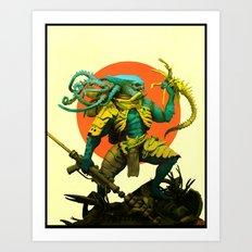 KingCrab Art Print