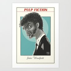 Jules Winnfield Art Print
