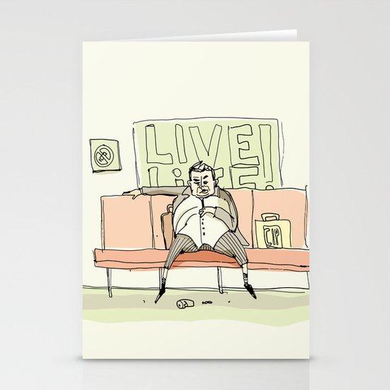 Live Life Stationery Card