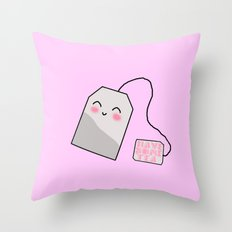 HAVE SOME TEA Throw Pillow