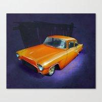 55 Gasser Canvas Print