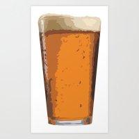 Vector Brew Art Print