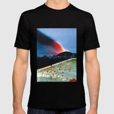 Quantum Leap Space Mens Fitted Tee Black SMALL
