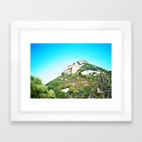 Sandstone Peak 1 Framed Art Print