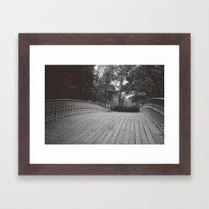B R I D G E {II} Framed Art Print