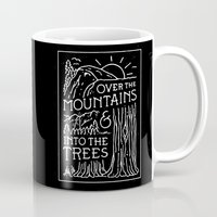 OVER THE MOUNTAINS (BW) Mug