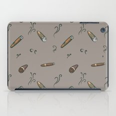 Smoky cigar pattern  iPad Case